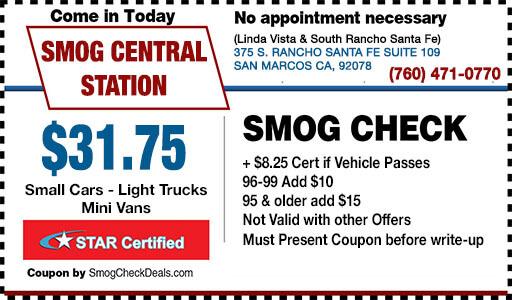31 75 Smog Check Coupon